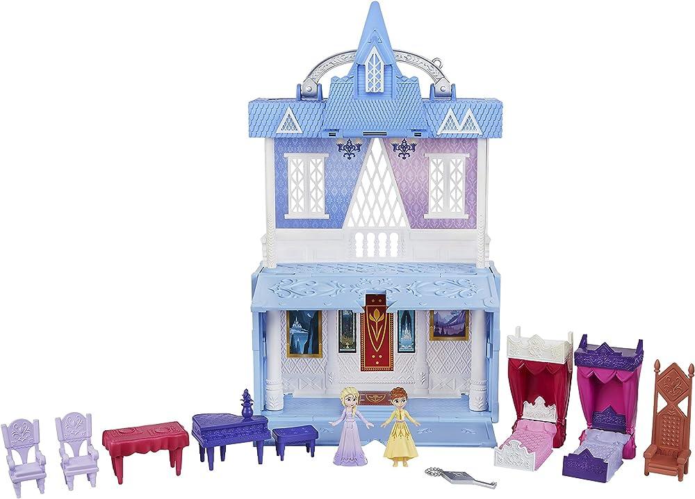 Hasbro disney frozen castello di arendelle ispirato al film frozen 2, multicolore E6548EU4