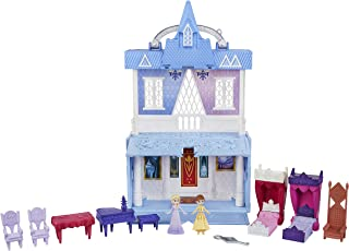 Hasbro Disney FROZEN POP UP Adventures Arendelle Castle Playset with Handle, Including Elsa Doll, Anna Doll, and 7 Accesso...