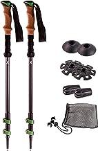 Walking Pole Basket,10 Pcs//Set Trekking Pole Basket Rubber Walking Hiking Stick Cane Accessory for Snow Mud Drag
