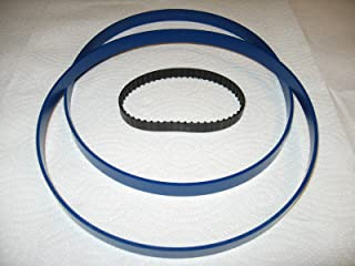 """2 BLUE MAX ULTRA DUTY 13 1//2/"""" X 7//8/"""" URETHANE BAND SAW TIRE SET  .125 THICK"""
