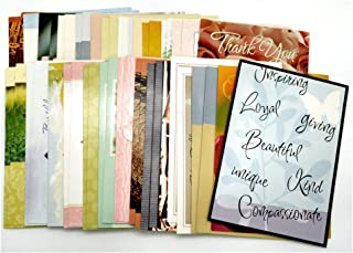 50 Assorted Everyday All Occasion 5 by 7 Greeting Cards with Envelopes, 34 Birthday, 4 Sympathy, 4 Blank, 2 Thank You, 2 G...