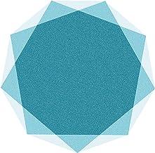 Desk Chair Floor mats for Carpet Short Pile Carpets Anti Slip Rug Pad Silent Floor Mat Easy to Clean Floor Protector Mat(S...