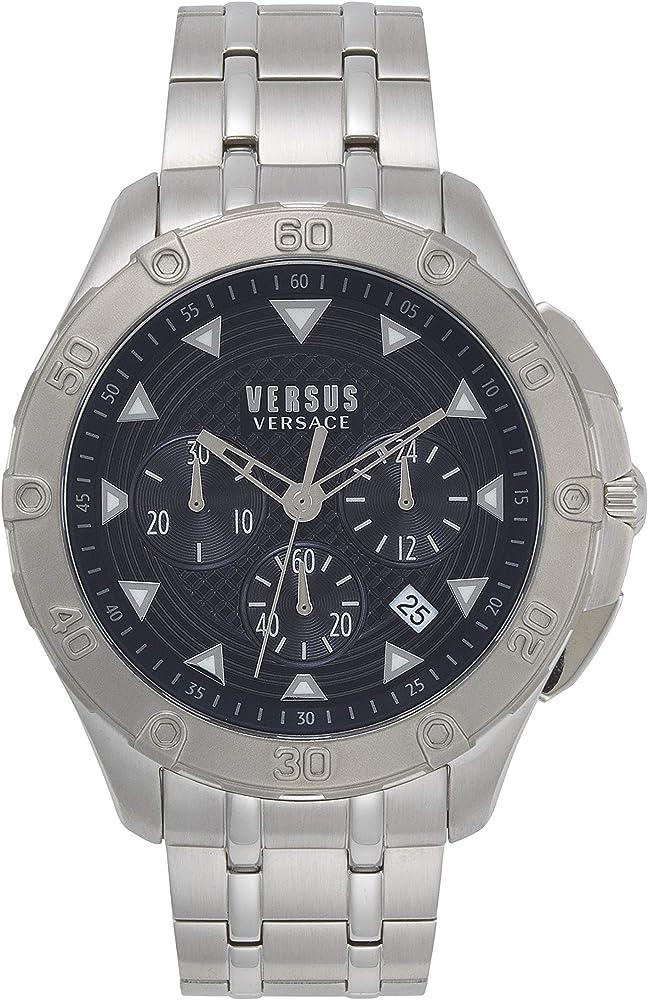 Versus versace watch orologio in acciaio inossidabile VSP060618