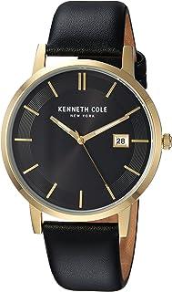 aceb090a80a3 Kenneth Cole New York KC15202002 - Reloj de Cuarzo para Hombre (Acero  Inoxidable y Piel