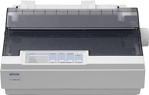 Epson LX 300+II Imprimante N&B matricielle JIS B4, 254 mm (largeur) 240 ppp x 144 ppp 9 pin jusqu'à 337 car/sec paral...