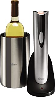 Oster 4208 Inspire Electric Wine Opener with Wine Chiller, Stainless Steel