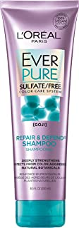 L'Oreal Paris EverPure Sulfate Free Repair & Defend Shampoo with Goji, 8.5 Fl. Oz (Packaging May Vary)