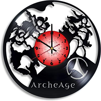 Amazon.com: Pipe Push Paradise Game Vinyl Wall Clocks for ...