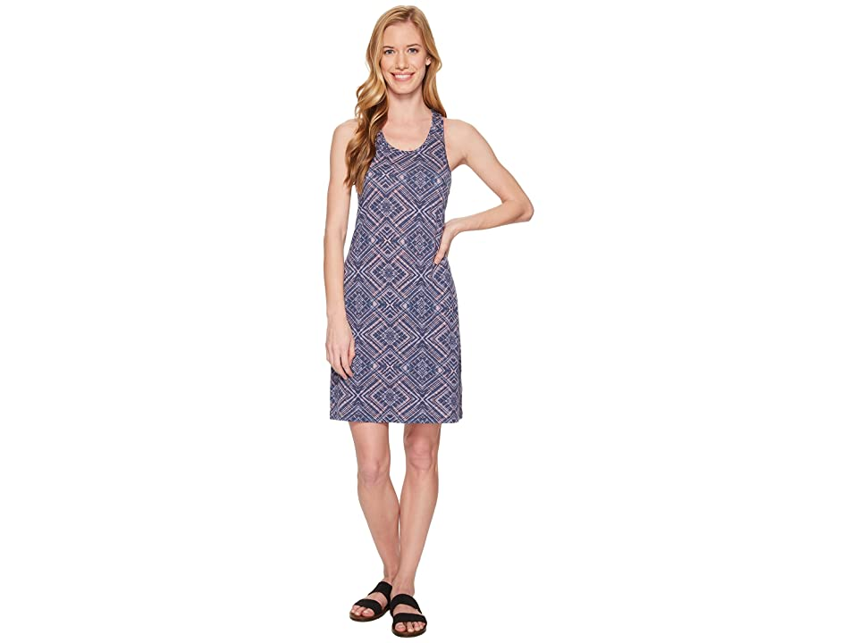 Smartwool Basic Merino 150 Pattern Dress (Dark Blue Steel) Women