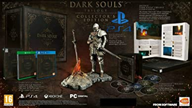 Dark Souls Trilogy Limited Collectors Edition W/ Elite Knight Statue (PS4)