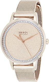 Hugo Boss Womens Quartz Wrist Watch, Analog and Stainless Steel- 1502464