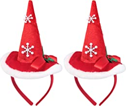 Myjoyday Christmas Headband Santa Fasciantors Costumes Hair Accessories Party Suppliers Festival Headwear for Girls and Women
