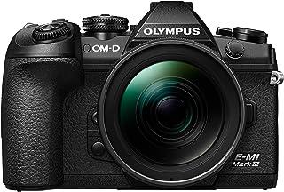 OLYMPUS ミラーレス一眼カメラ OM-D E-M1 MarkIII 12-40mm F2.8 PROレンズキット ブラック...