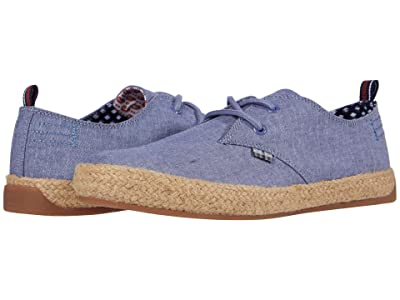 Ben Sherman New Prill Lace-Up (Blue Chambray) Men