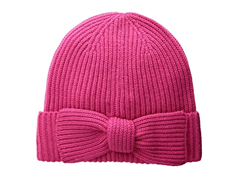 439463e7857 Kate Spade New York Solid Bow Beanie at Luxury.Zappos.com
