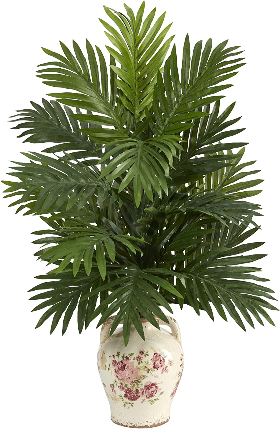 27in. Areca Palm 67% OFF of fixed price Artificial Jar Floral Max 72% OFF in Plant