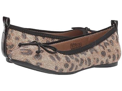 Kenneth Cole Reaction Kids Copy Tap (Little Kid/Big Kid) (Black Leopard) Girls Shoes
