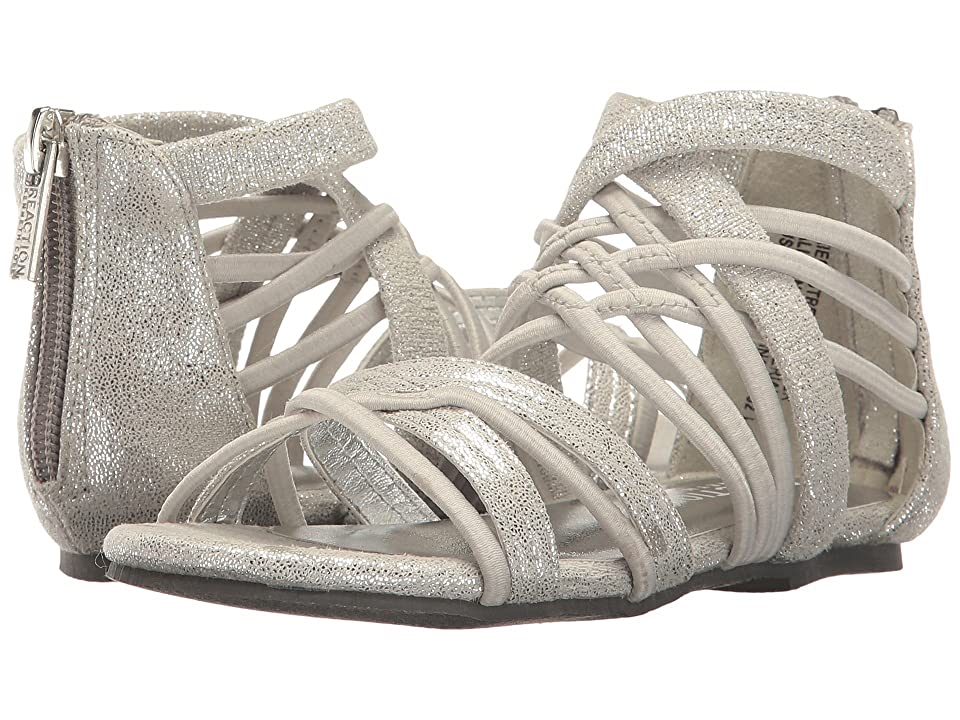 Kenneth Cole Reaction Kids Kiera Stretch (Toddler) (Silver) Girl