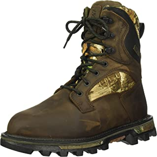 Men's Bearclaw Fx 800g Insulated Waterproof Realtree Camo Outdoor Boot Ankle