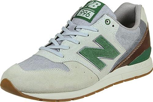 New Balance uomo, MRL996 sneakers nabuk beige E7102