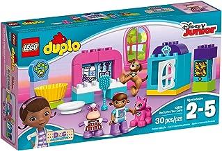 LEGO Duplo l Disney Doc McStuffins' Pet Vet Care 10828 Learning Toy for Toddlers, Large Building Bricks