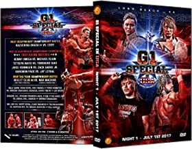 NJPW - G1 Special USA 2017 Night 1 DVD