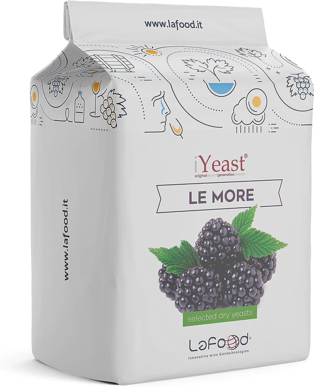 iYeast Levadura emnológica seleccionada – Levadura de 0,250 kg – Levadura para vinificación/fermentación/vino