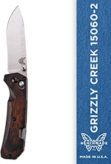Benchmade - Grizzly Creek 15060-2 Knife, Drop-Point