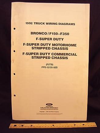 1992 ford f-150, f250, f350 series truck, bronco, f-