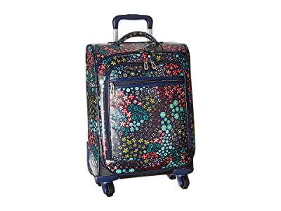 Sakroots Sak Roots Carry On Suitcase (Navy Floral Spirit) Carry on Luggage