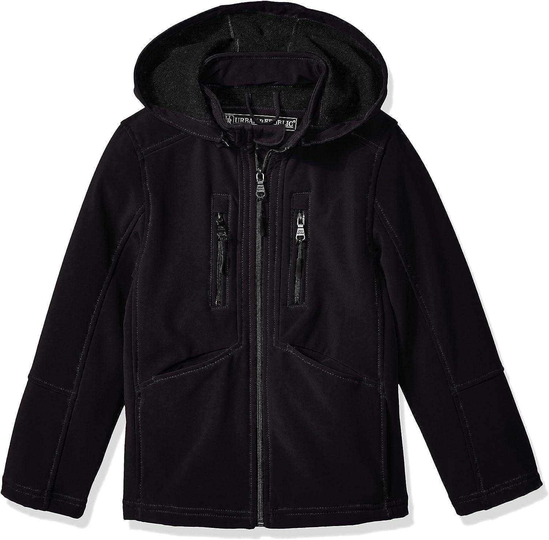 URBAN REPUBLIC Boys' Soft Shell 通信販売 超激安 Off Jacket Zip Hood