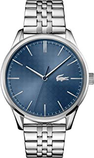 Lacoste Men's Blue Dial Stainless Steel Watch - 2011049