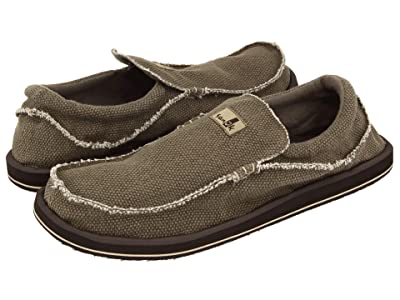 Sanuk Chiba Big Tall (Brown) Men