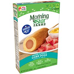 Morningstar Farms, Veggie Classics, Veggie Corn Dogs, Vegetarian, 10 oz (4 Count)