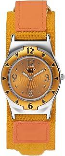 At Time - 454-1806-66 - Montre Fille - Quartz - Analogique - Bracelet Textile Orange