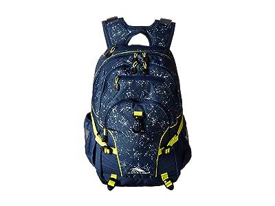 High Sierra Loop Backpack (Space Creatures/Rust.Blue/Glow) Backpack Bags
