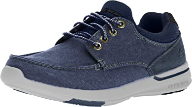 Skechers Men's Relaxed Fit-Elent-Mosen Boat Shoe