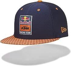 Red Bull KTM New Era 9Fifty Hex Era Flapcap, Blue Unisex Cap, KTM Factory Racing Original Clothing & Merchandise