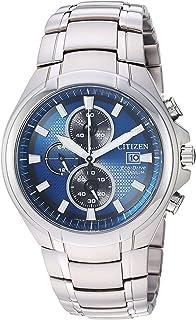 Reloj de cuarzo para hombre, correa de titanio, plateado, 24 (modelo: CA0700-51L)