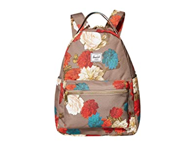 Herschel Supply Co. Nova Mid-Volume (Vintage Floral Pine Bark) Backpack Bags