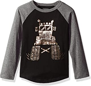 Gymboree Boys' Big Long Sleeve Baseball Raglan Tee
