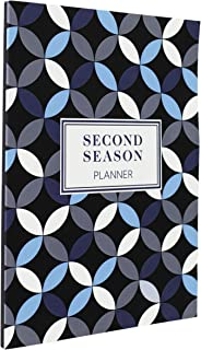 Second Season Planner 4-in-1 Undated Weekly Planner & Monthly Calendar w/Action Steps, Review Pages, Personal Organizer fo... photo
