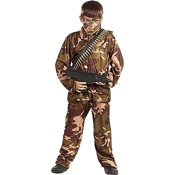 Disfraz Soldado Camuflaje (10-12 AÑOS): Amazon.es: Juguetes y juegos