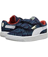Puma Kids - Suede Geofetti V (Toddler/Little Kid/Big Kid)