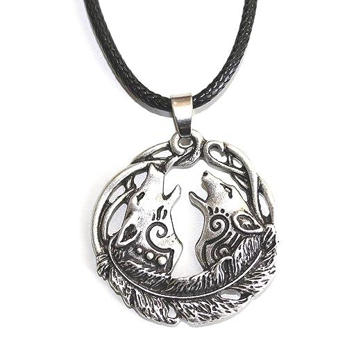 MunkiMix 925 Argent Fin 925//1000 Pendentif Collier Argent Oiseau de feu Phoenix Tribal Homme,58cm cha/îne