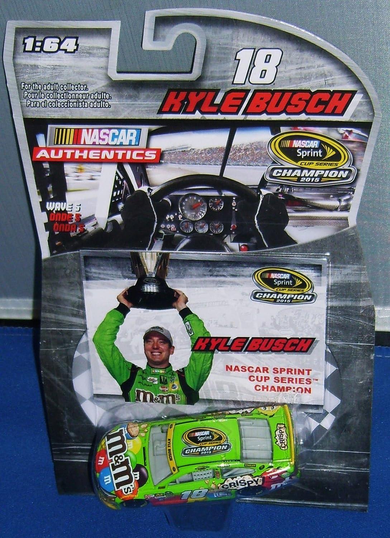 Homestead Race Win 2015 Kyle Busch  18 Crispy Paint Scheme 1 64 Diecast With Bonus Victory Lane Championship Celebration