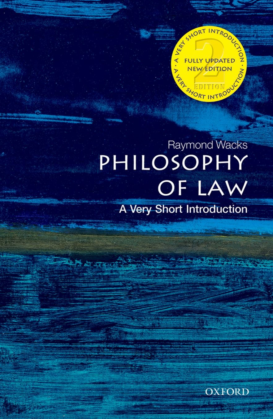 Image OfPhilosophy Of Law: A Very Short Introduction