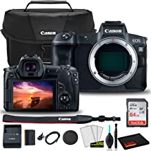 $1694 » Canon EOS R Mirrorless Digital Camera (Body Only) (3075C002) + Canon EOS Bag + Sandisk Ultra 64GB Card + Clean and Care Kit (International Model)