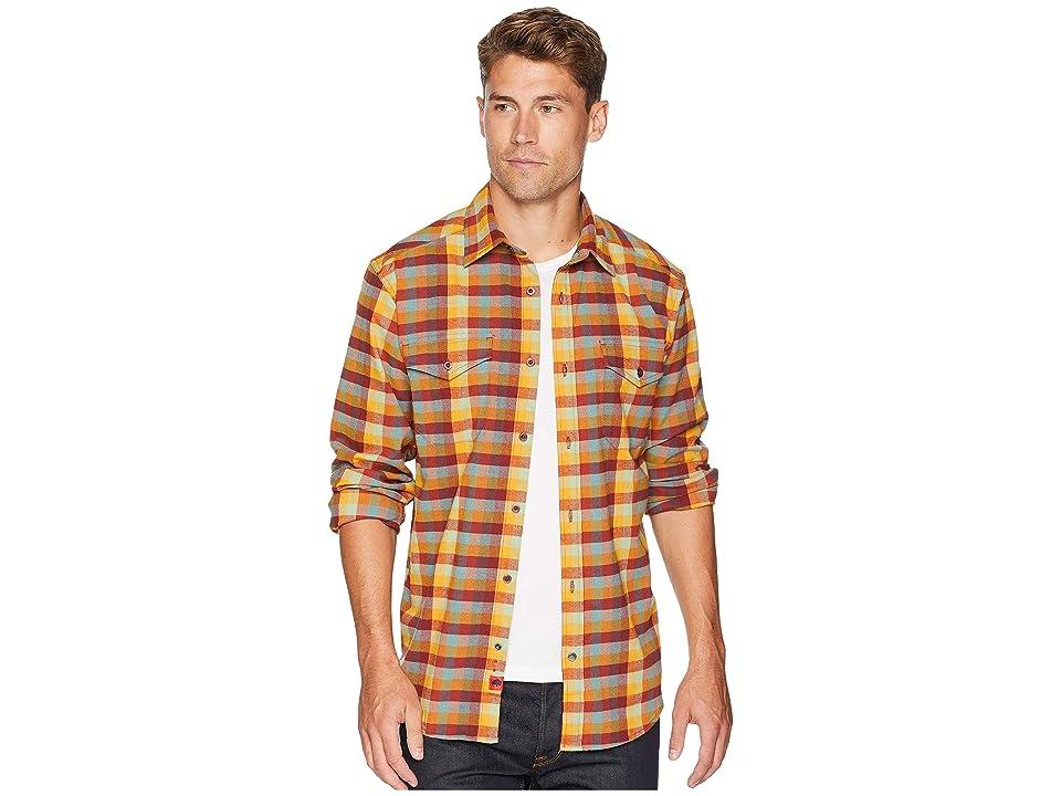 Mountain Khakis Peaks Flannel Shirt (Butterscotch) Men