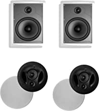 Polk Audio 90-RT in-Ceiling Speaker (Pair) Plus A Polk Audio MC85 in-Wall Speaker (Pair)